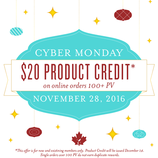 Young Living Cyber Monday sale