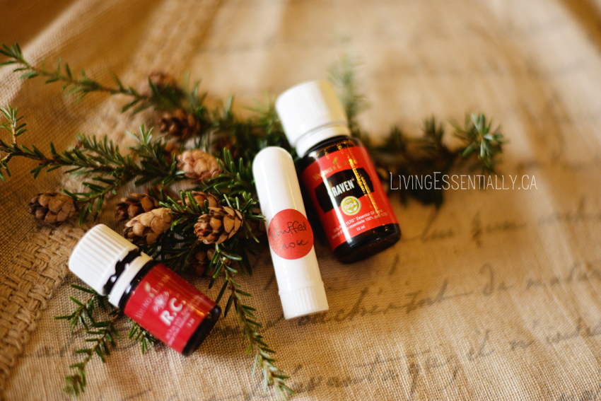 Young Living DIY inhaller